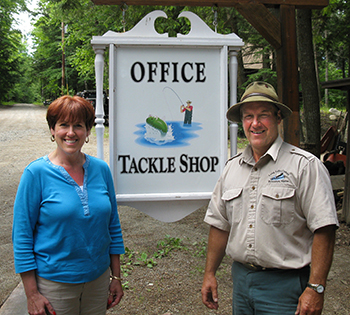 Our Maine lake cabin rentals owners