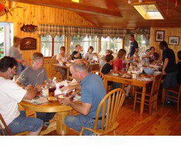 Long Lake Camps Dining Hall